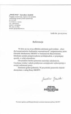 """""""PPOŻ-POL"""" Jarosław Janicki"""