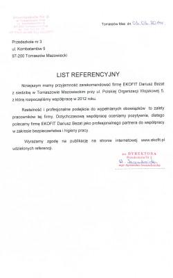 Przedszkole Nr.3 w Tomaszowie Maz.